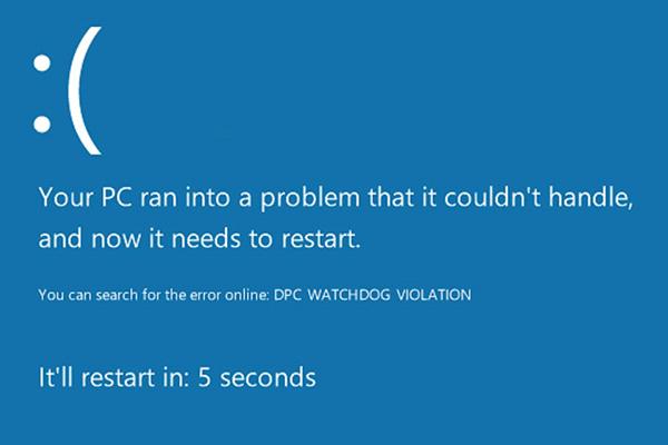 Fixed: DPC Watchdog Violation Error