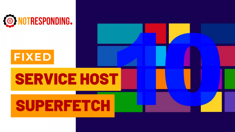 Fixed Service Host Superfetch On Windows 10