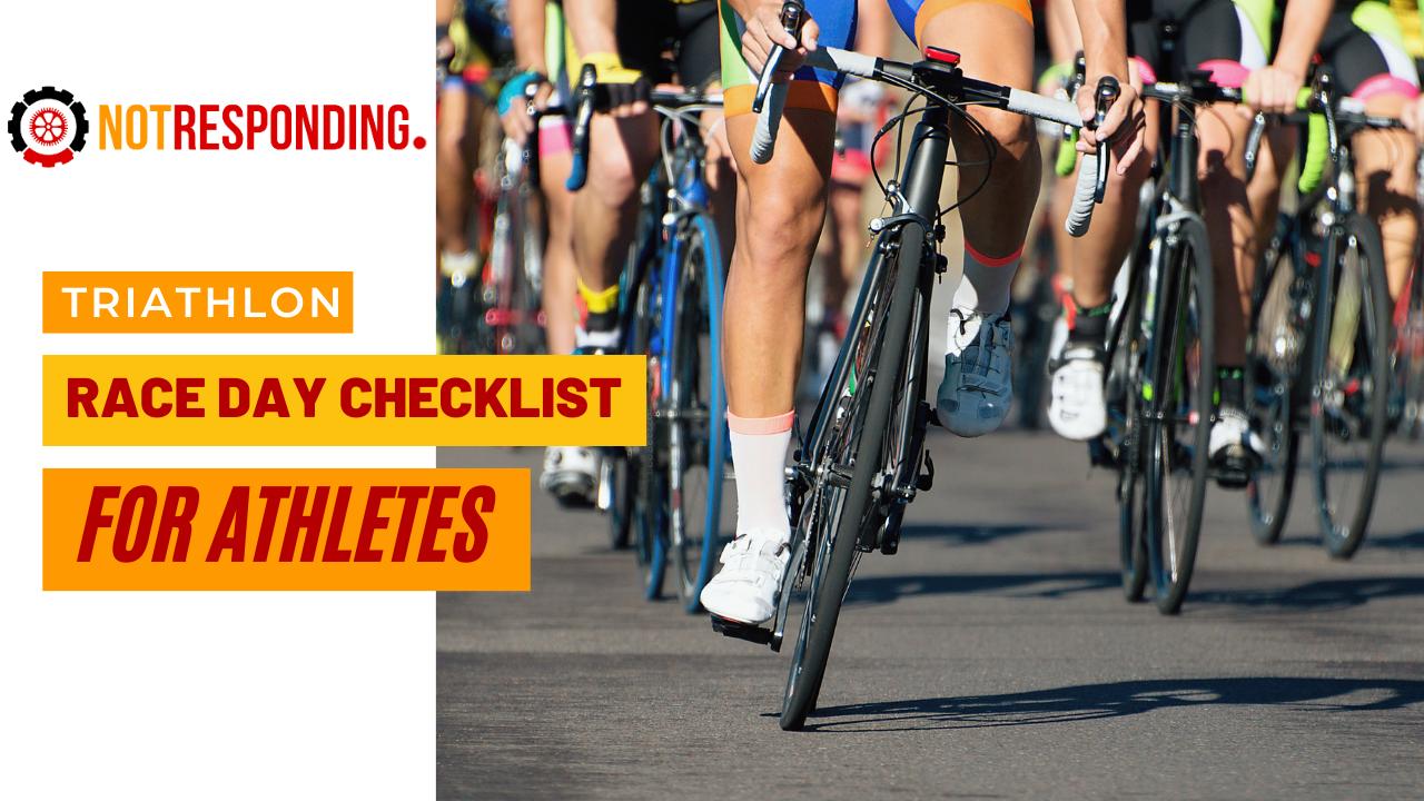 Triathlon race day checklist for athletes in 2021