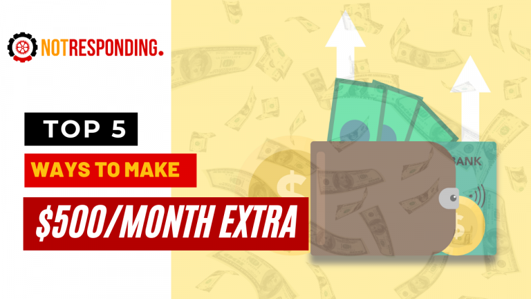 easy ways to earn 500 per month